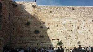 הכותל. לא סתם קיר חיצוני של בית המקדש