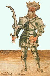 צלאח  א-דין - העזתי נשבה בקסם הדמיון של חרבו