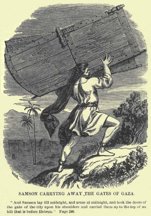 שמשון נושא את שערי עזה - האם גם צה''ל יכול?