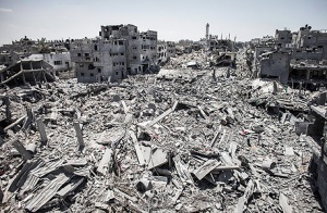 תמונות משכונת סג'עיה בעזה - ככה נראה קיר ברזל יהודי. מעשי ותודעתי
