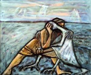 תרשים של מאבק יעקב במלאך - מי ניצח? מי מנצח? מי יהלל גבורות ישראל - מי יקונן על תבוסתו?