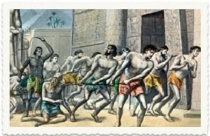 עבדים - מי למי? העבדים כבר מושכים את הנוגש למען יעבידם המרכז נע שמאלה מהר מהשמאל