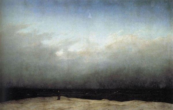 הנזיר מול הים  פרידריך 1810