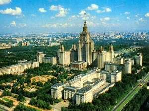 אוניברסיטת לומנסוב במוסקבה - פאר אדריכלות העידן שחיסל את אלוהים - ארכיטקטורה של תפילה אל מדינה