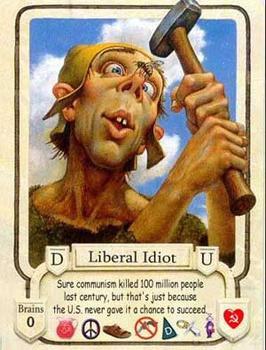 אידיוט ליברלי - קוריוז מתנשא המתעלם מהשלכות עמדותיו, מעשיו ודבריו.