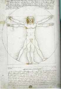 """האדם הויטרוביאני-לאונרדו דה וינצ'י זהו סמל ההומניזם ואותו דאע""""ש מוציאים להורג - את 'האדם' המופשט, ההומניסטי"""