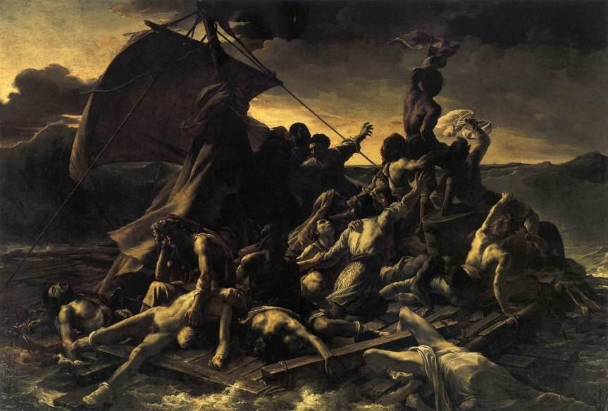 רפוסדת המדוזה - תיאודור ז'ריקו 1847