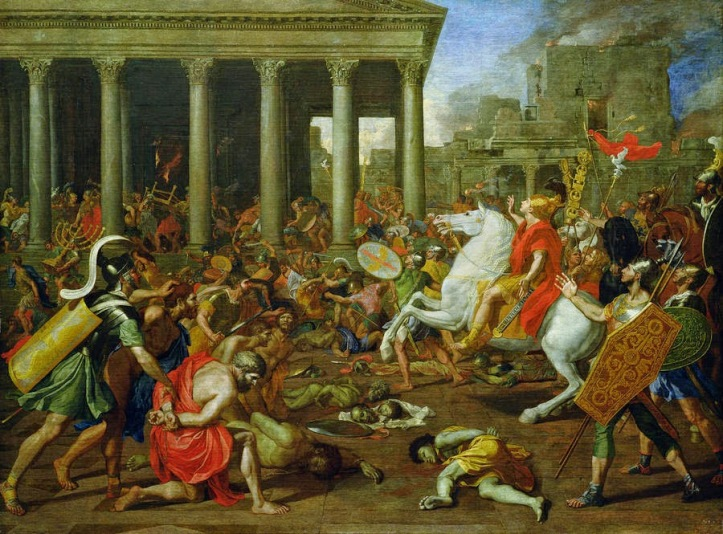 ניקולא פוסן - 1637 - הרס בית המקדש
