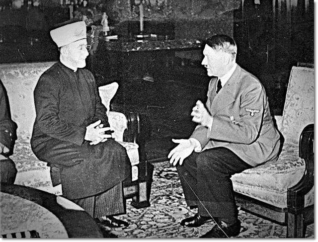 היטלר והמופתי. ראו עין בעין את פתרון בעיית היהודים
