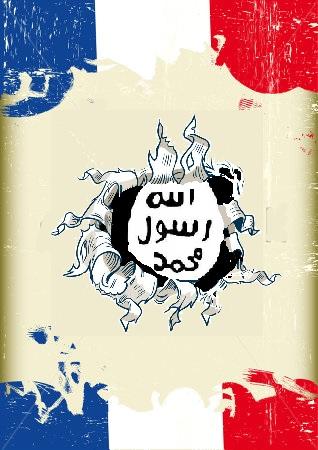 """קיומו של דאע""""ש חורך את העולם הטריקולורי"""