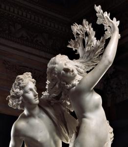 פסל אפולו ודפנה של האמן האיטלקי ברניני